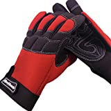 MECHANIC GLOVES For Working On Cars - Work Safety Gloves Protect Fingers And Hands - Extra Large Size XL, 1 Pair