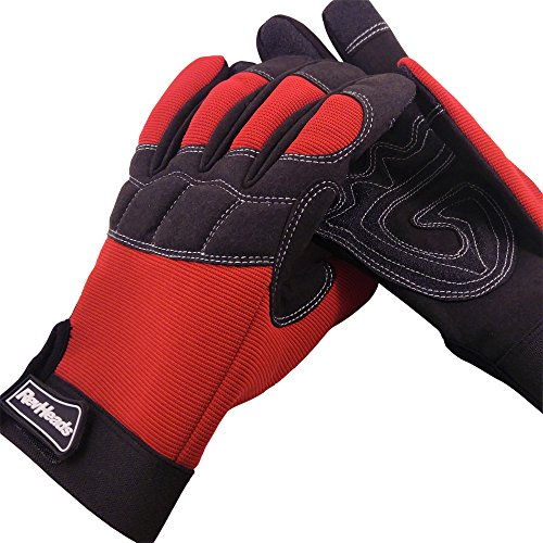 Mechanic Gloves For Working On Cars - Work Safety Gloves Protect Fingers And...