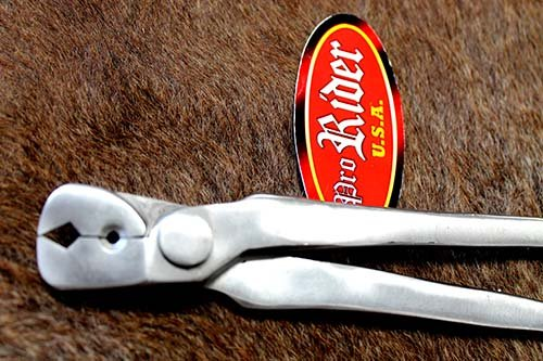 CHALLENGER Horse Farrier Tool Crease Nail Puller Shoe Vanadium Steel 12'' 98404