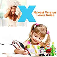 3D Pen for Kids with 7.5M long 1.75MM PLA - 2017 Tipeye est RED Version 3D Doodler Pen Kits 3D Printing Pen with LCD Display PLA Filament Refills for Adults, Doodling, Artist, Girls, DIY etc from TIPEYE