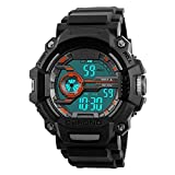 Sport Men's Athletic Marathon Large Face Watch Digital Timer Outdoor Wrist Watches Amry Military Tracker Swimming Alarm Quartz Fashion Casual Stopwatch