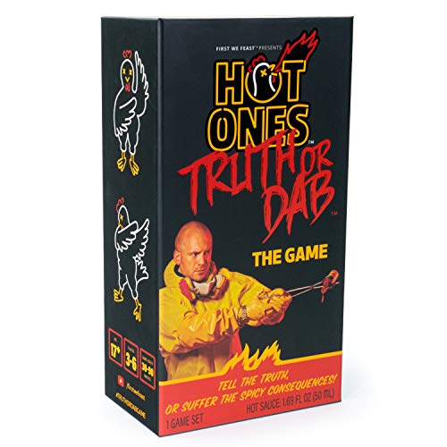 🥇 Truth or Dab Hot Ones The Game – Hot Sauce Included