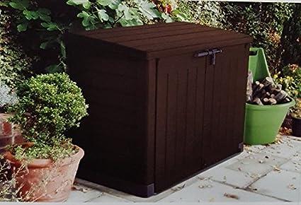 Keter Garten Storage Xxl Gross Aufbewahrungsbox Store It Out Max Grosse 1200l 42 Cu Ft Xxl Amazon De Garten