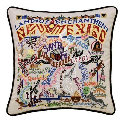 New Mexico State Pillow by Catstudio by Catstudio