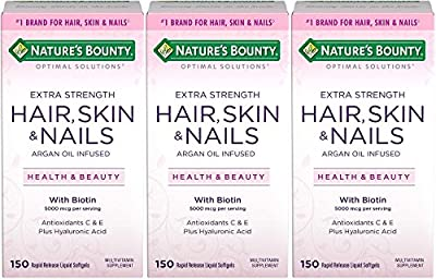 Nature's Bounty Optimal Solutions Hair, Skin & Nails Extra Strength