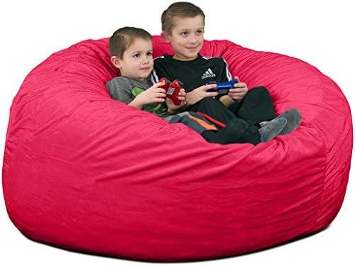 ULTIMATE SACK 4000 4 Ft. Bean Bag Chair: Giant Foam-Filled Furniture - a good cheap bean bag chair