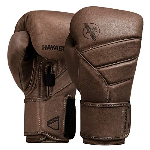 Hayabusa Boxing Gloves | T3 Kanpeki Leather Boxing Gloves | Men and Women | Brown | 12oz
