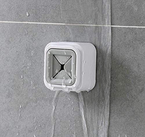 Set de dos toalleros con gancho para colgar pa/ños de cocina y toallas.Percha de puerta para ba/ño y cocina con adhesivo de fijaci/ón fuerte para pared sin tornillos.
