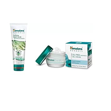 a0962e840770 Buy Himalaya Purifying Neem Scrub, Oil Free Radiance Gel Cream Online at  Low Prices in India - Amazon.in
