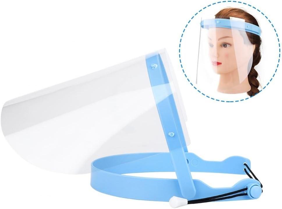 10pcs Protector Facial Anti-niebla Ajustable, Dental Profesional Protector Películas Protectoras de Plástico Anti-Saliva Proteger Los Ojos y Cara para Laboratorio el hogar y la clínica