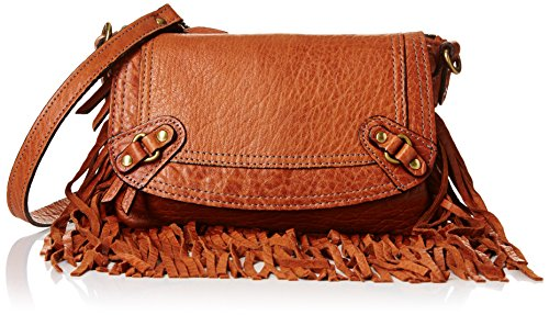 ABACO Joe frangia Java, Borsa a tracolla Marrone (Marron (Came))