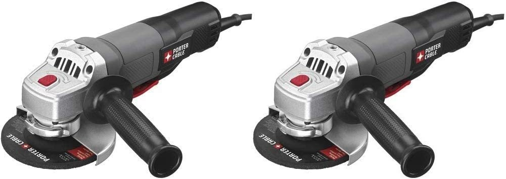 """PC60TPAG PORTER CABLE 7.0 Amp 4-1//2/"""" Angle Grinder//Cut Off Tool"""