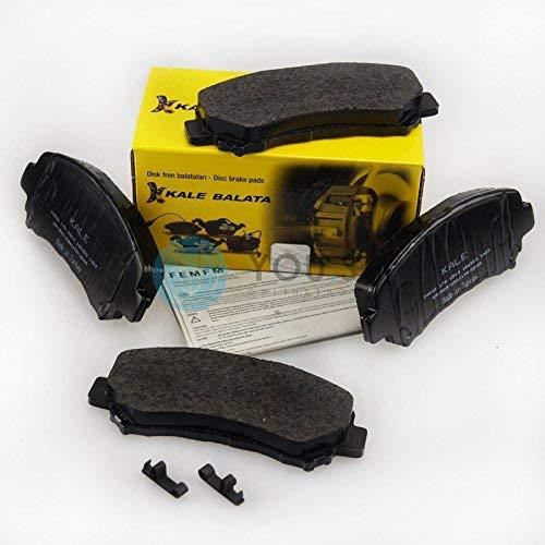 Kale Disc Brake Pads Set Front for Wva-Nummer: 24632: