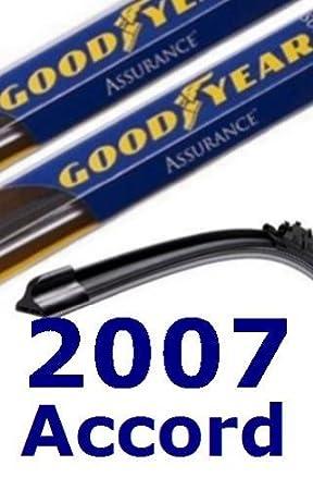 2007 Honda Accord Replacement Limpiaparabrisas (2 Cuchillas): Amazon.es: Coche y moto