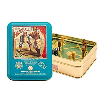 Channel Craft TTHB Home Baseball in a Vintage Game Tin: Toys & Games