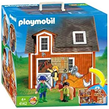 Amazon Com Playmobil My Take Along Farm Limited Edition Toys Games