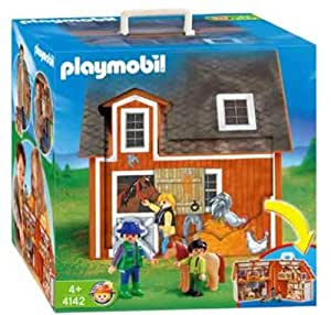Playmobil - Granja maletín (4142)