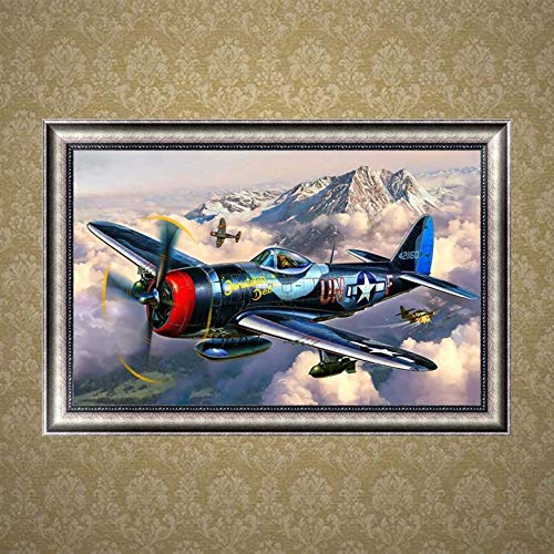 AgoHike DIY 5D Diamond Plane Drill Painting Embroidery Cross Stitch Decor Craft