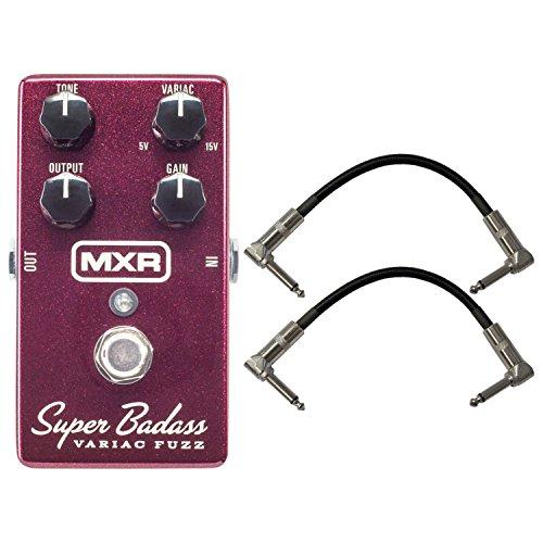 MXR M236 Super Badass Variac Fuzz Analog Guitar Effect Pedal + Cables