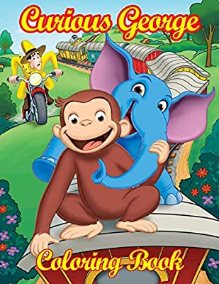 Curious George and Panda Coloring Page | Kids… | PBS KIDS for Parents | 400x309