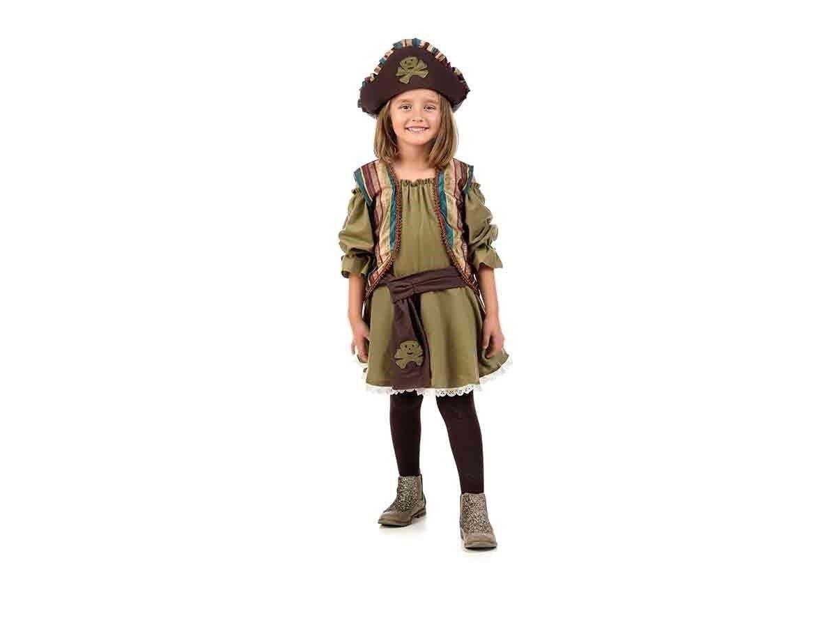Limit Disfraz Infantil Pirata Niña Talla 5 (9/11 Años),, 9-11años ...