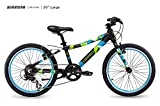 Guardian Lightweight Kids Bike 20 Inch, Safe Patented SureStop Brake System, Kids Mountain Bike, Bike Sizes for Kids 3' 9' - 4' 5', Boys Bikes and Girls Bikes