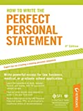 How to Write the Perfect Personal Statement (Peterson's Perfect Personal Statements)