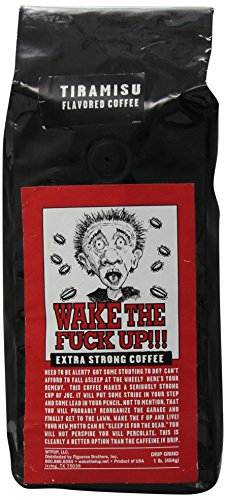 Wake the F'Up Uncensored Coffee, Tiramisu, 1 (Coffee Tiramisu)
