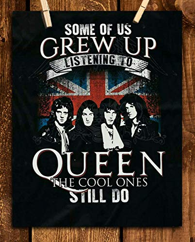 """Queen Poster-Cool One"