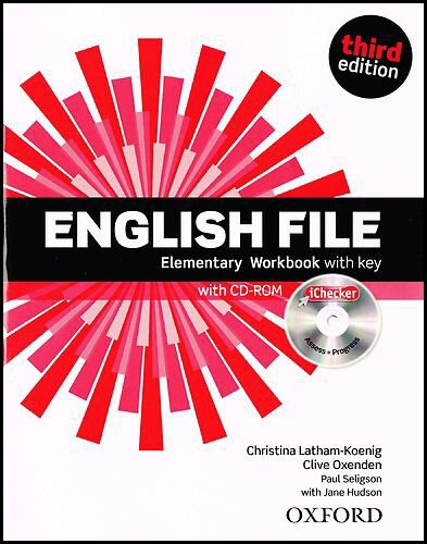 English File third edition: English File. Elementary. Workbook with Key and iChecker Pack