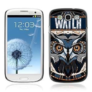 YOYOSHOP [Awesome OWL Pattern Tattoo] Samsung Galaxy S3 Case