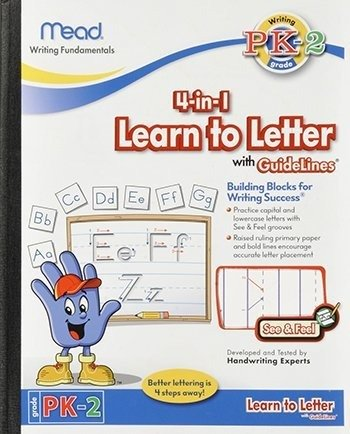 Mead Learn Letter Guidelines 48004
