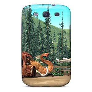 Hot Tpye Manny & Ellie Ice Age Case Cover For Galaxy S3
