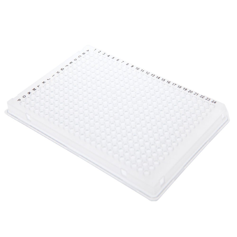 384-Well PCR Plate, Clear, A24 Cut Corner, 50 Plates/Unit by Olympus Plastics