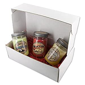 Chowdaheadz With Love From Boston Candle Gift Set 100% Soy, All Natural, Made In The USA