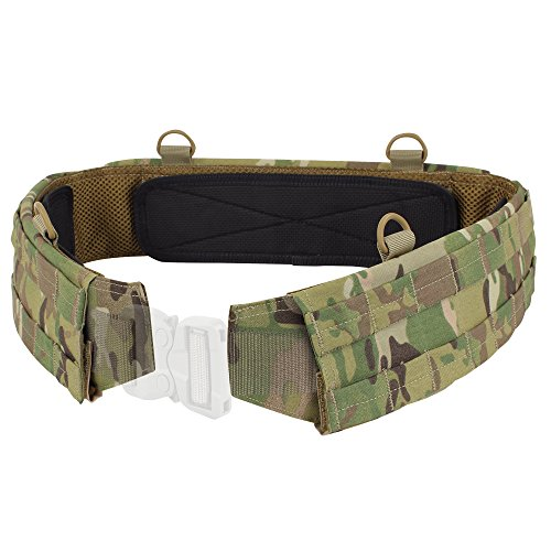 Condor Outdoor Slim Battle Belt Multicam for EDC competition