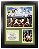 """Legends Never Die NBA Oakland Athletics All Time Greats Double Matted Photo Frame, 12"""" x 15"""""""