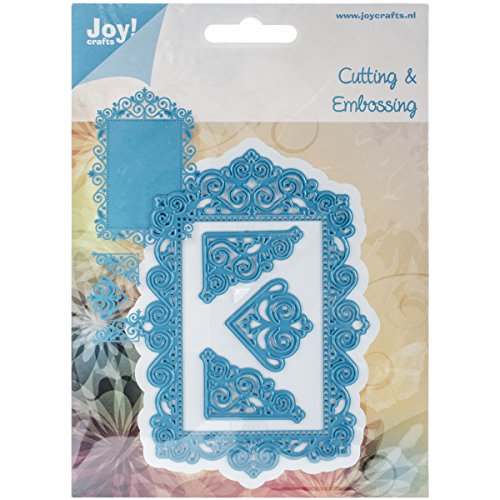 Joy! Crafts 60020356 Cutting and Embossing Die, Frame Plus 3 - Corner Die