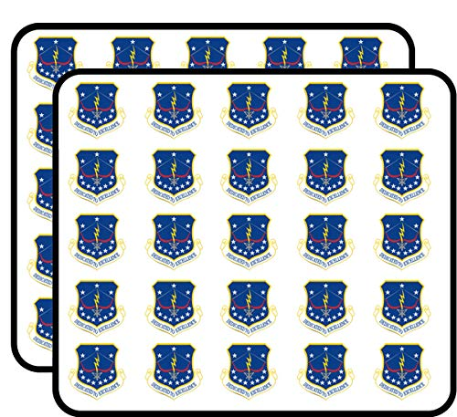US Air Force 115th Fighter Wing Vinyl Transfer Decal Military Veteran Served 50 Pack Sticker for Scrapbooking, Calendars, Arts, Album, Bullet Journals and More 1