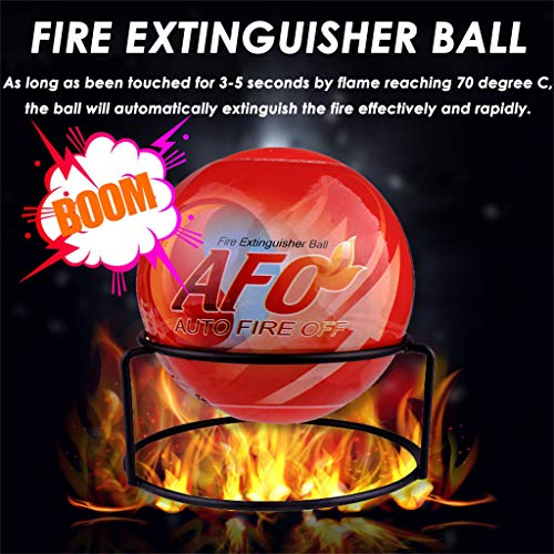 (UNBRUVO Fire Extinguisher Ball Anti-Fire-Ball Stop Fire Loss Tool Safety Non-Toxic)