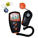 HQRP Digital Handheld Illuminance Light Meter/Luxmeter with LCD Display for Photo Camera UV Meter