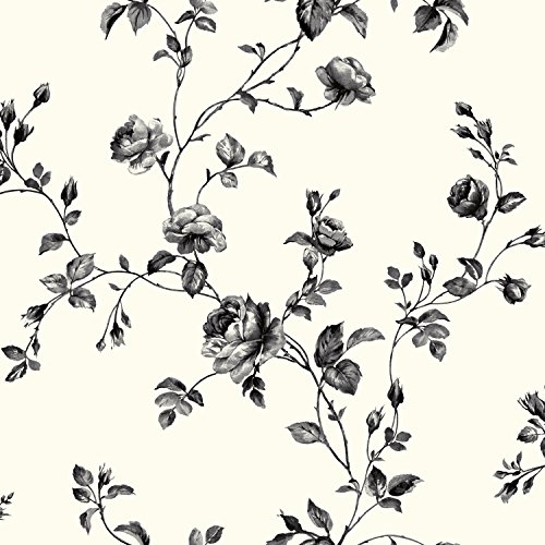 Floral Toile Wallpaper - 2