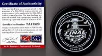 PSA/DNA Marian Hossa 2015 Stanley Cup Real Game 6 Puck Autographed Signed