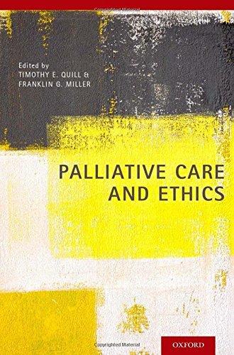 Palliative Care And Ethics