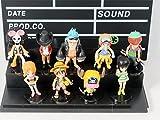 BabyBlue Shop 9pcs/lot 6-9cm. Anime One Piece