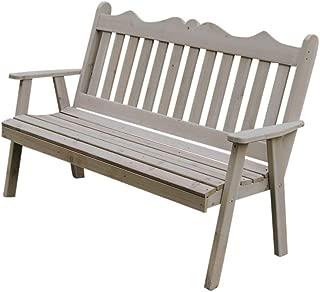 product image for Cedar 5' Royal English Garden Bench, Oak Stain