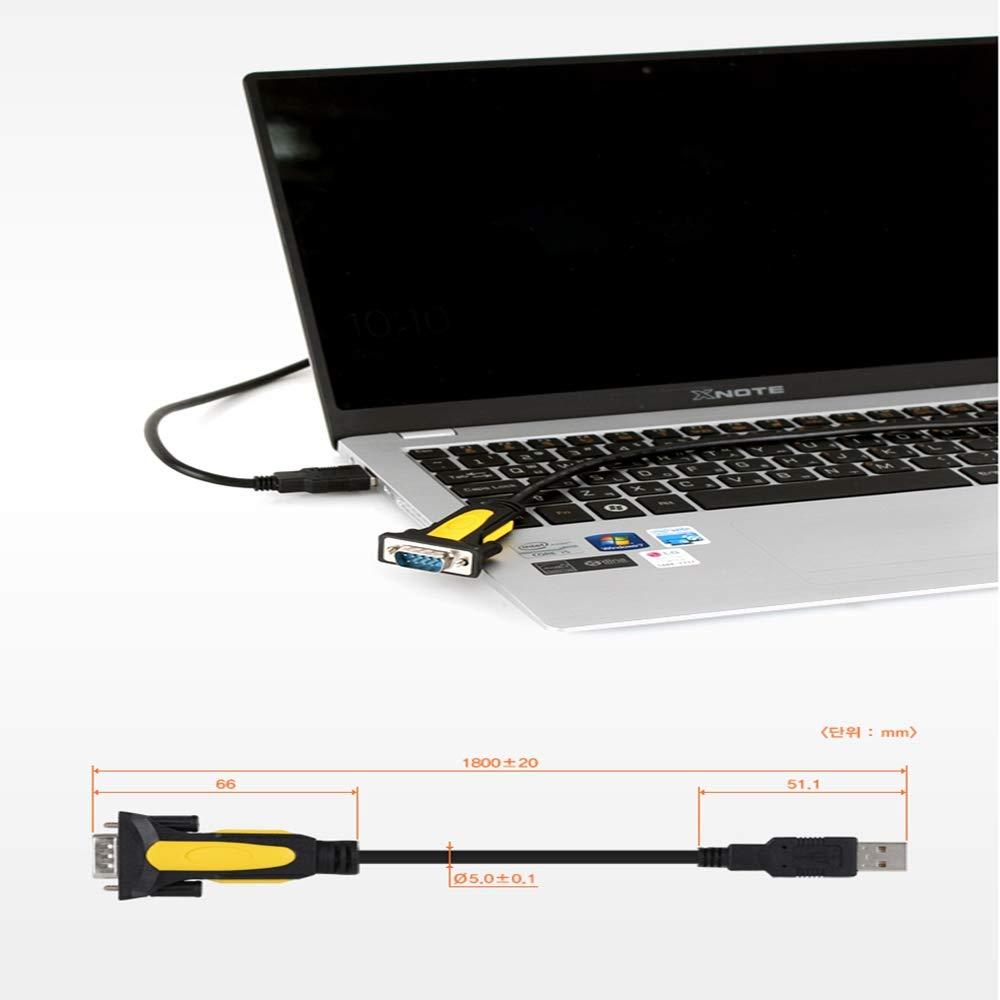 NETmate PnK P261A USB to RS232 Converter Prolific