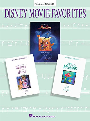 DISNEY MOVIE FAVORITES PIANO ACCOMPANIMENT