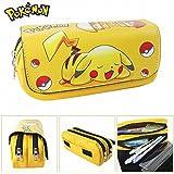 Trousse deux compartiments rentrée scolaire Pokemon Pikachu