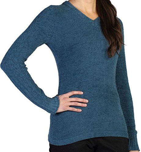ExOfficio Women's Irresistible Dolce V Neck, Marina, Medium ()